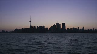 The Skyline of Toronto, Ontario, Canada