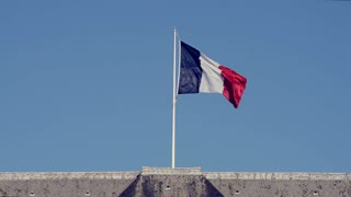 The French Flag from the 'Invalides' in Paris