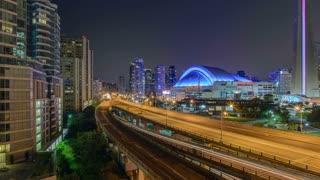 Timelapse of the Gardiner Expressway in Toronto
