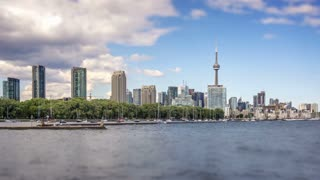 Timelapse of Toronto from the Lakeshore