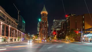 Timelapse of Toronto (Wellington Street East)