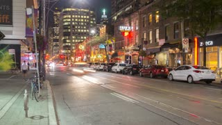 Toronto - King West Night 4K.mov