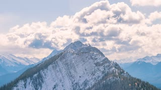 4K Timelapse Sequence of Banff, Canada - The Canadian Rockies during the day