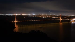 4K Timelapse Sequence of San Francisco, USA - San Francisco s bay during the sunrise