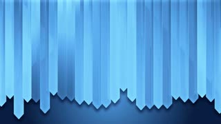 dynamic blue wood strip wall design board