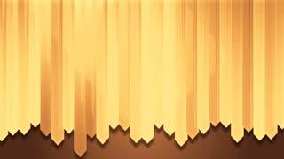 dynamic yellow wood strip wall design board