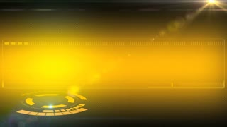 yellow animation background for intro tv show