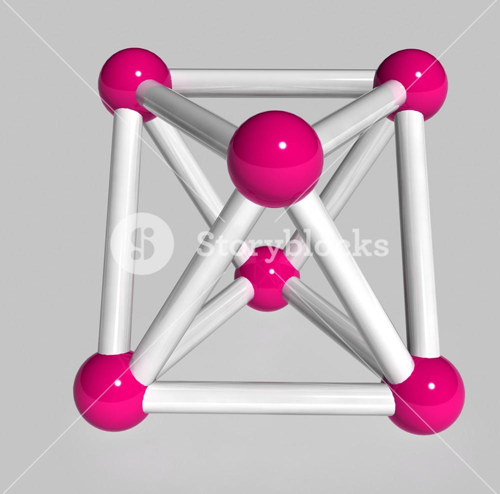 3d Molecules Box