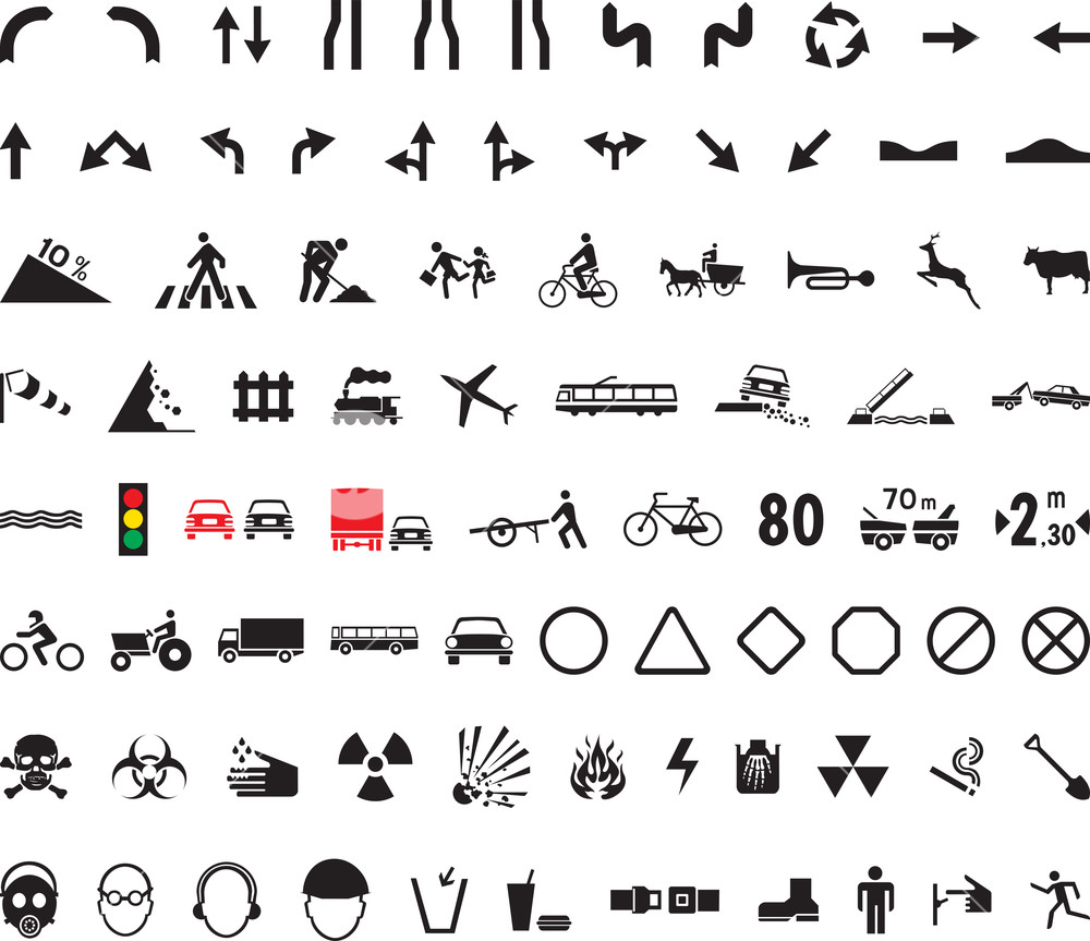 82 Universal Pictograms