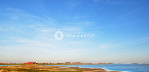 Rural Landscape In Zeeland