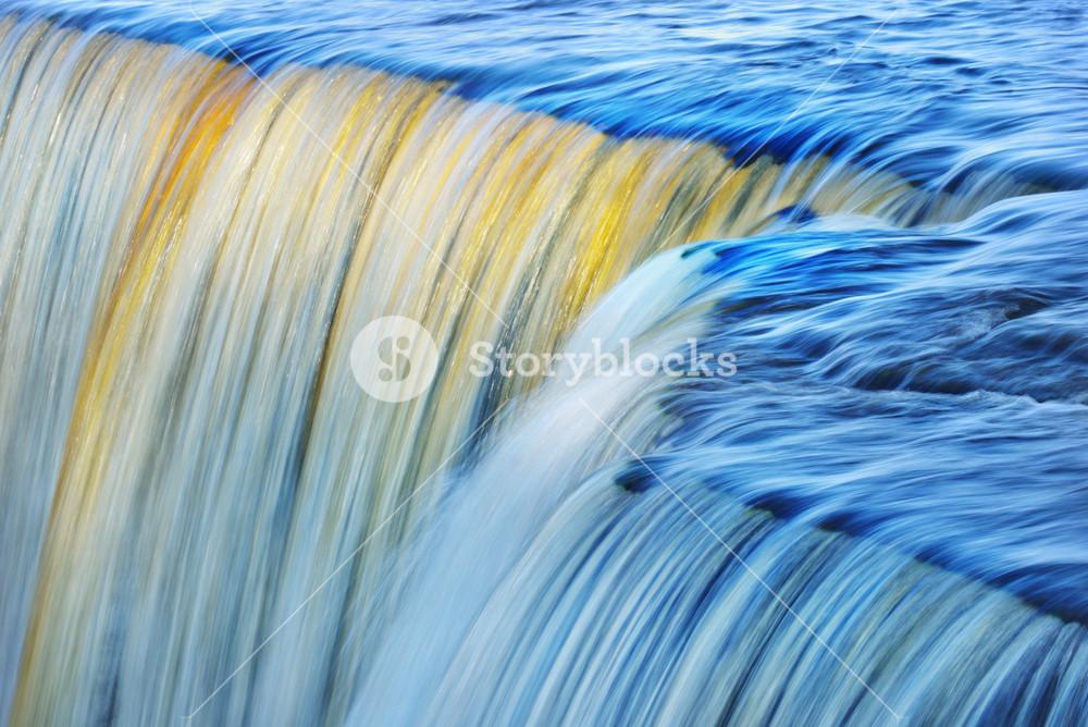 Jagala Waterfall In Estonia