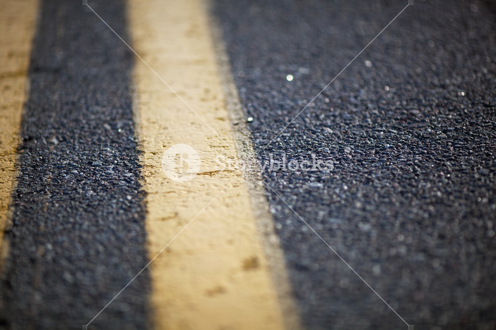 Marked road