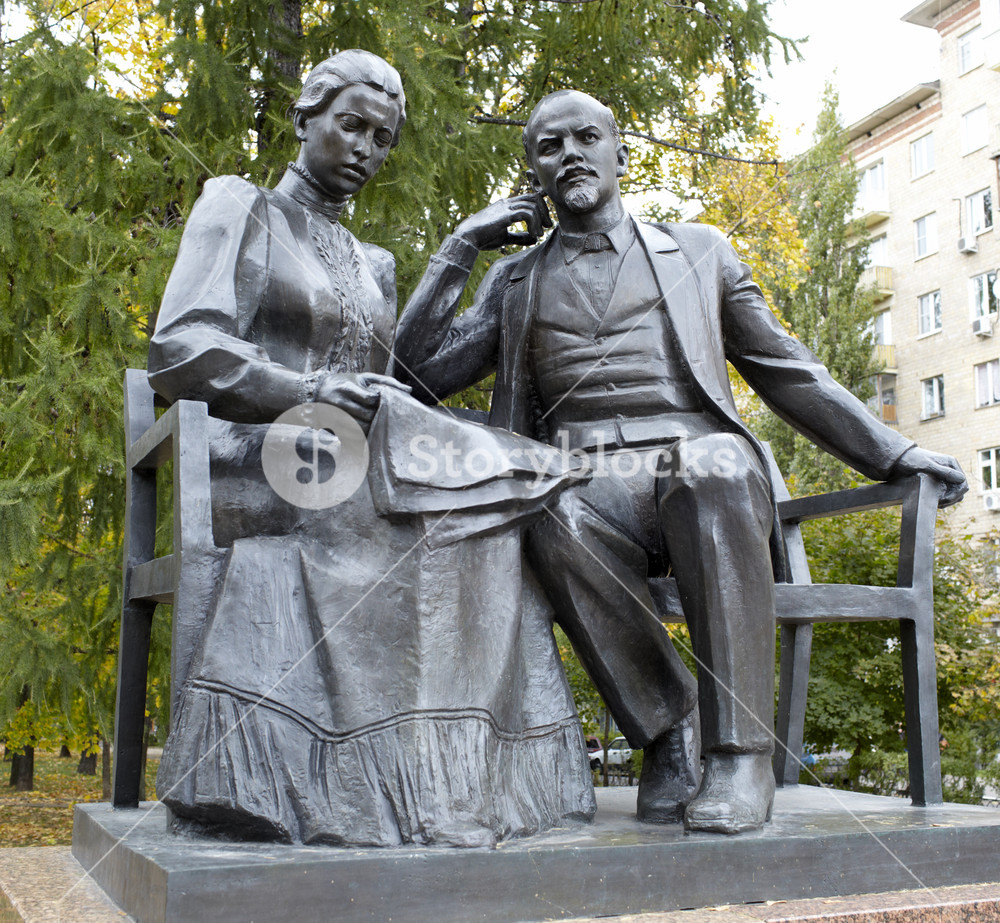 Lenin and krupskaya