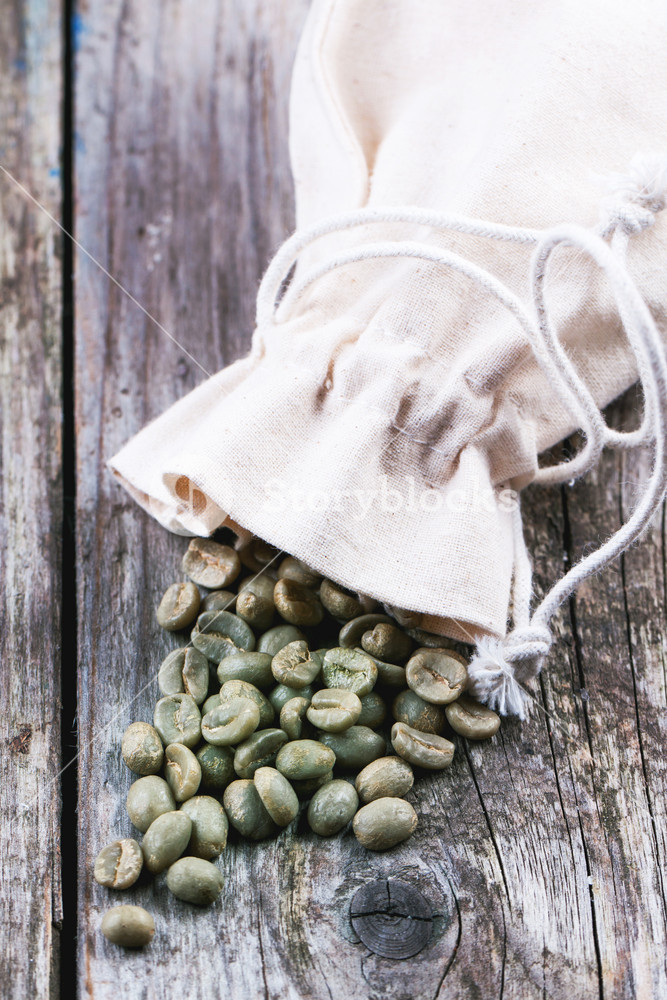 Unroasted Green Coffee Beans