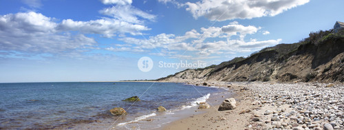 Block Island Coast Panorama