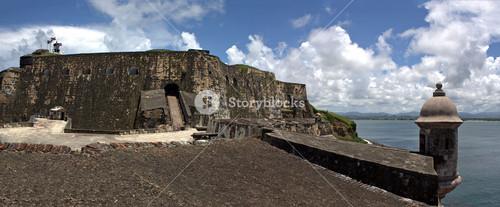 El Morro Fort Panorama