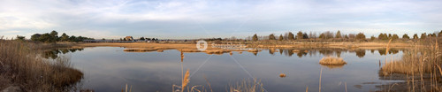 Hammonasset Beach Marsh Panorama