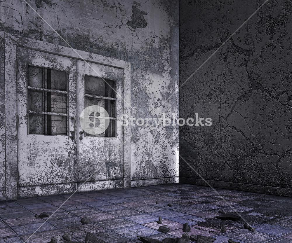 Abandoned Interior Background