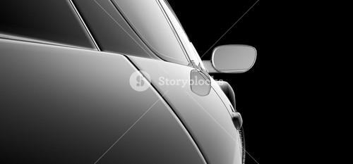 Abstract Car Model