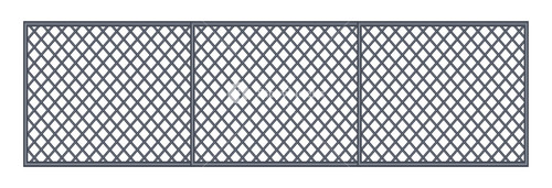 Abstract Fence Design