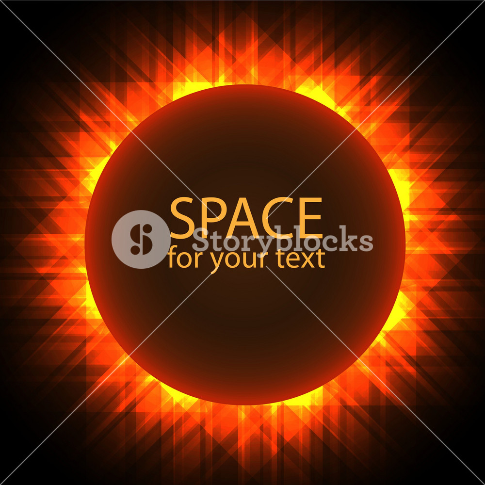 Abstract Solar Eclipse