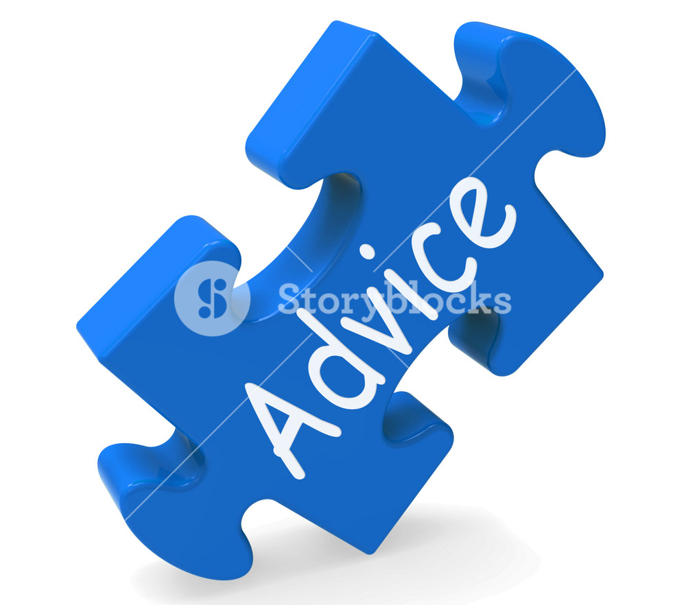 Advice Shows Support Help And Assistance