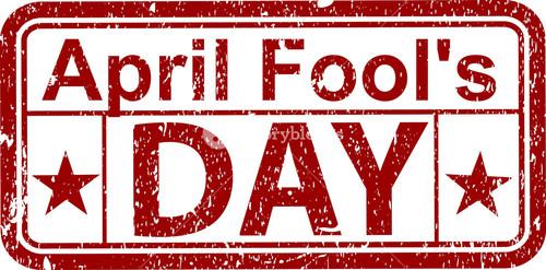April Fool's Day Stamp