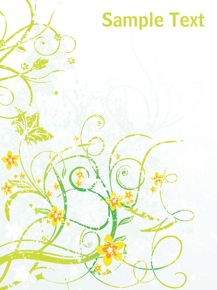 Artistic Curve Design Background