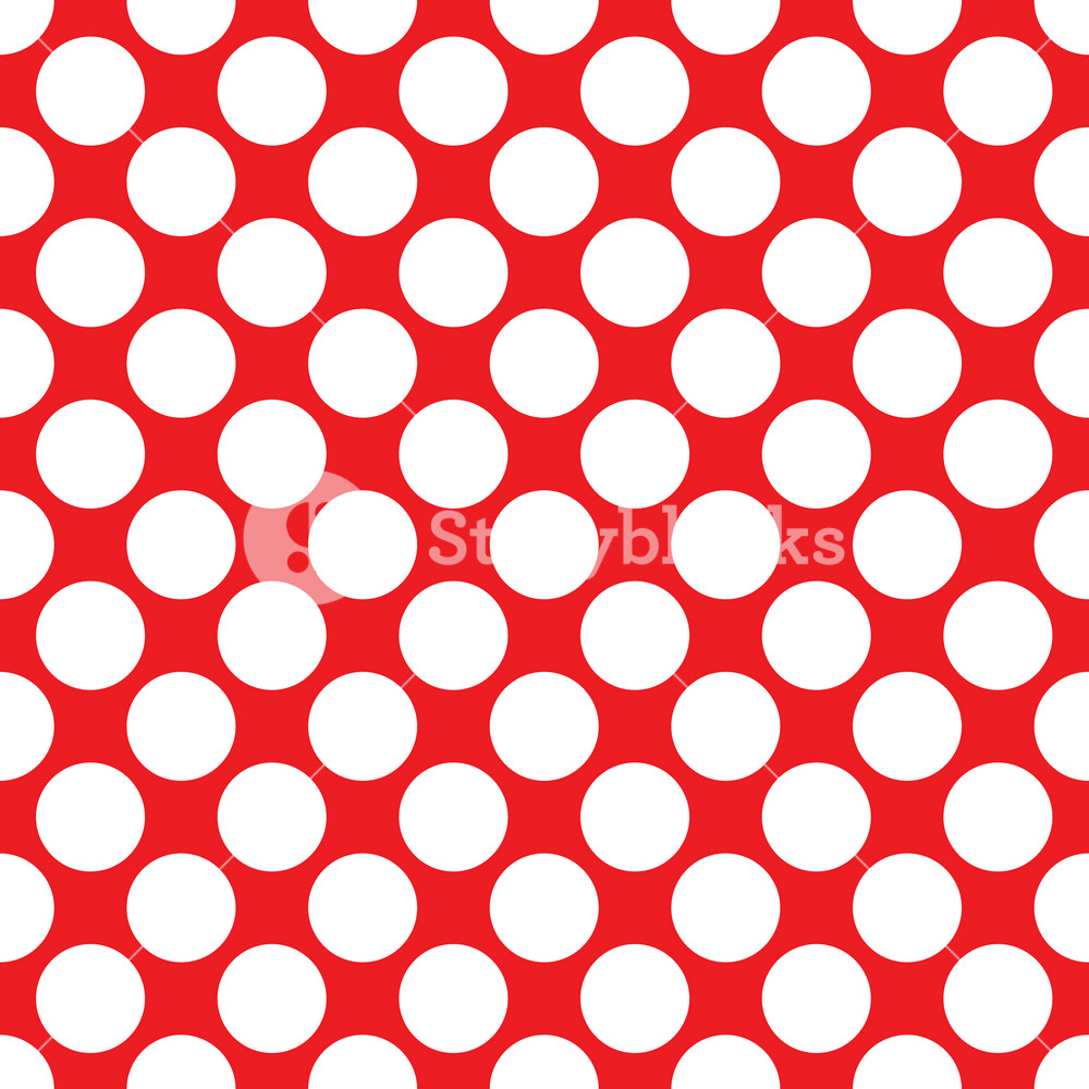 Baby Birthday Pattern Of White Circles On A Red Background Royalty Free Stock Image Storyblocks