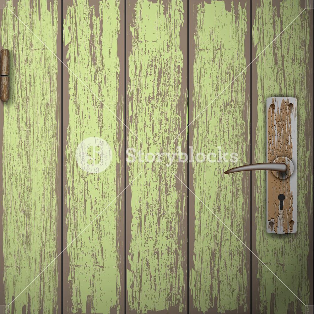 Background Of Old Wooden Door
