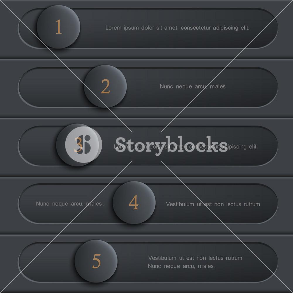Black Design Website Layout