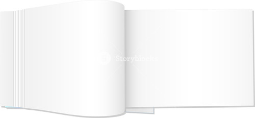 Blank Notebook Illustration