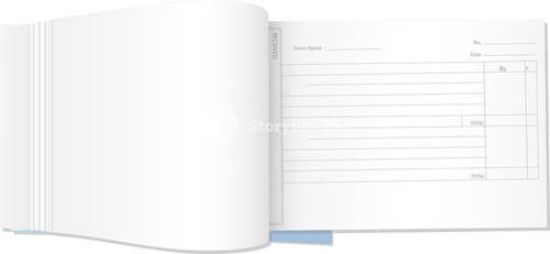 Blank Receipt Book