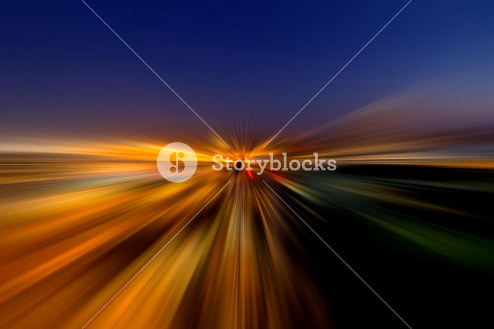 Blur Speed Effect