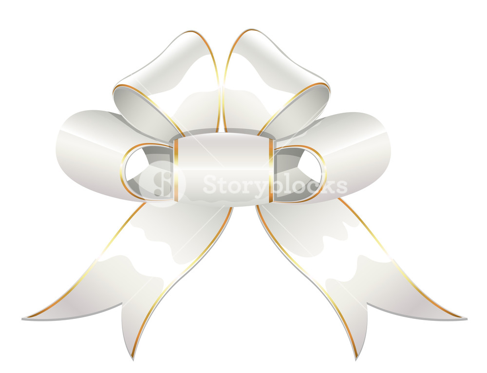 Bow Vector - Christmas Vector Illustration