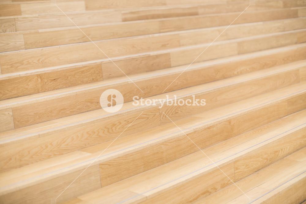 Brown wood stairway background detail close up