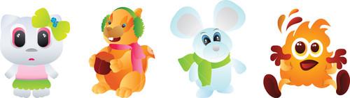 Cartoon Baby Animals