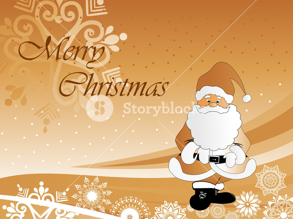 christmas background with cute cartoon santa royalty free stock image storyblocks https www storyblocks com business solution license comparison