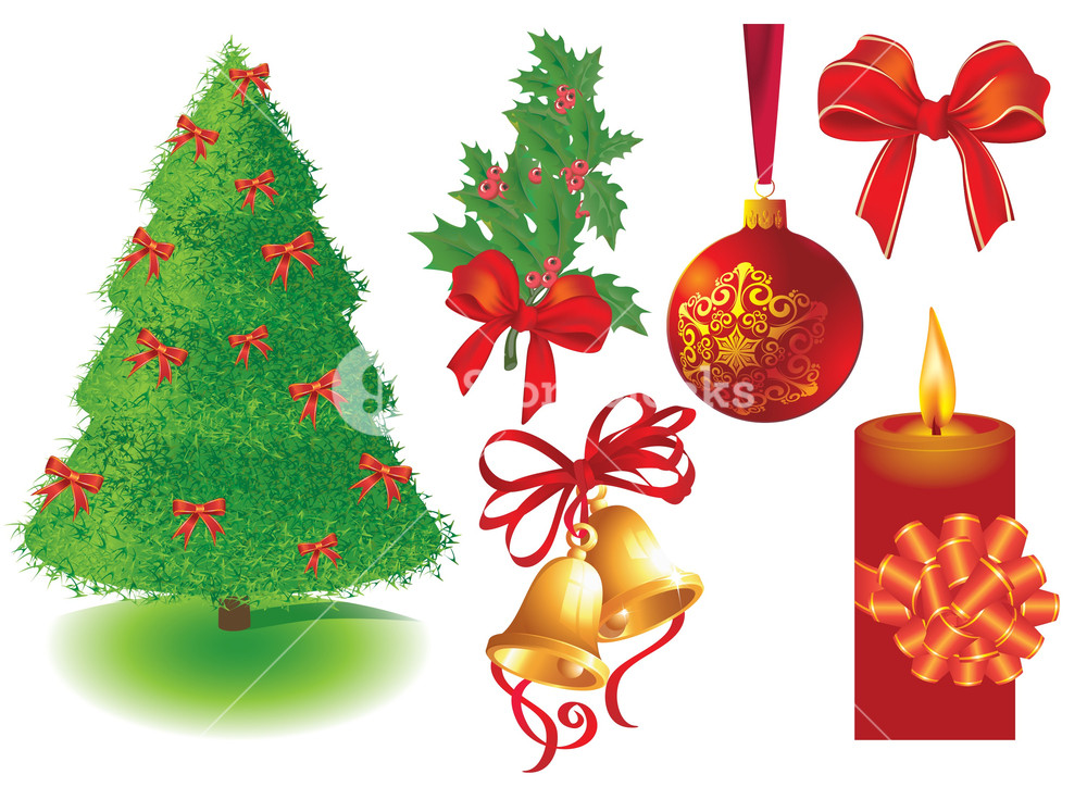 Christmas Design Elements. Vector.