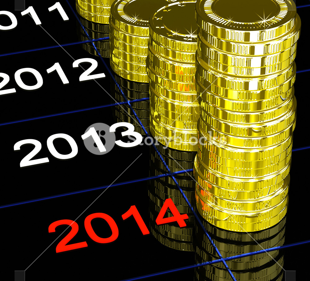 Coins On 2014 Showing Upcoming Finances