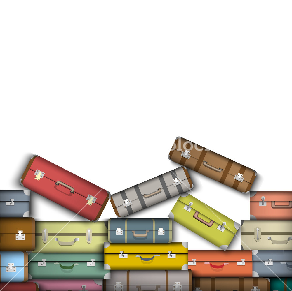 Colored Suitcases