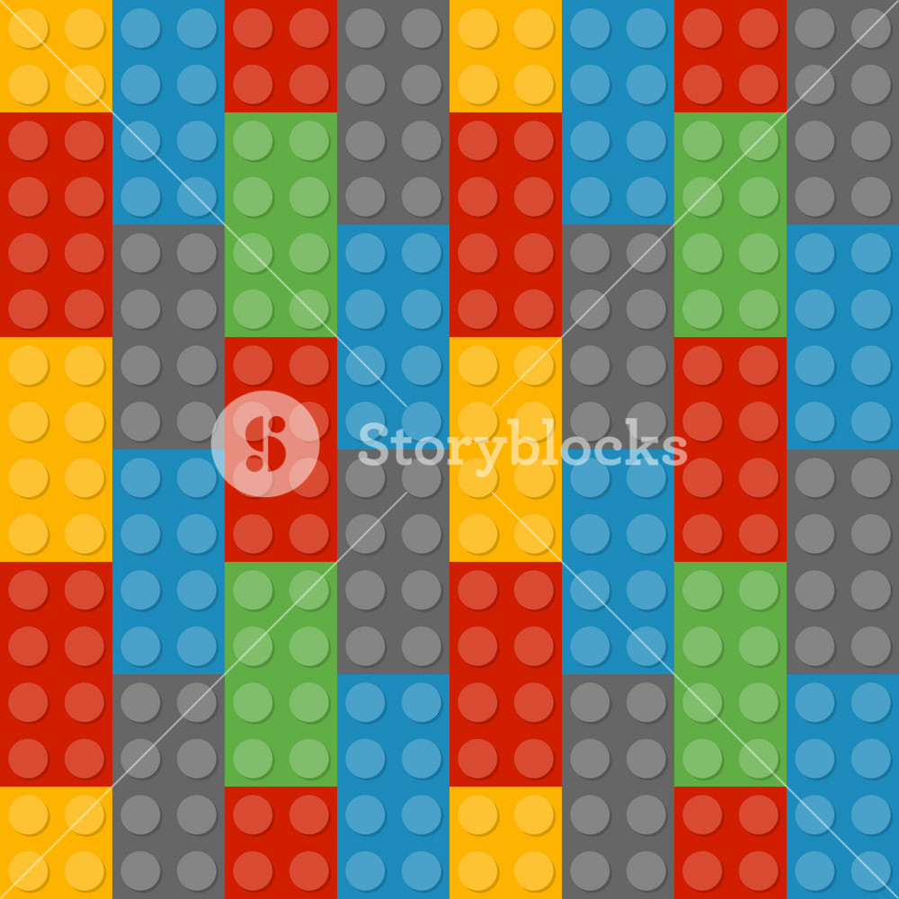 Colourful Lego Pattern