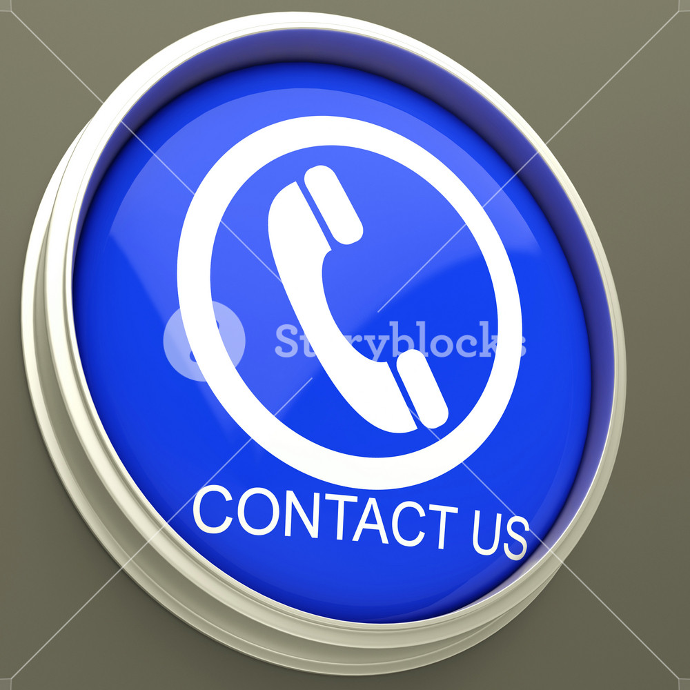 Contact Us Button Shows Assistance