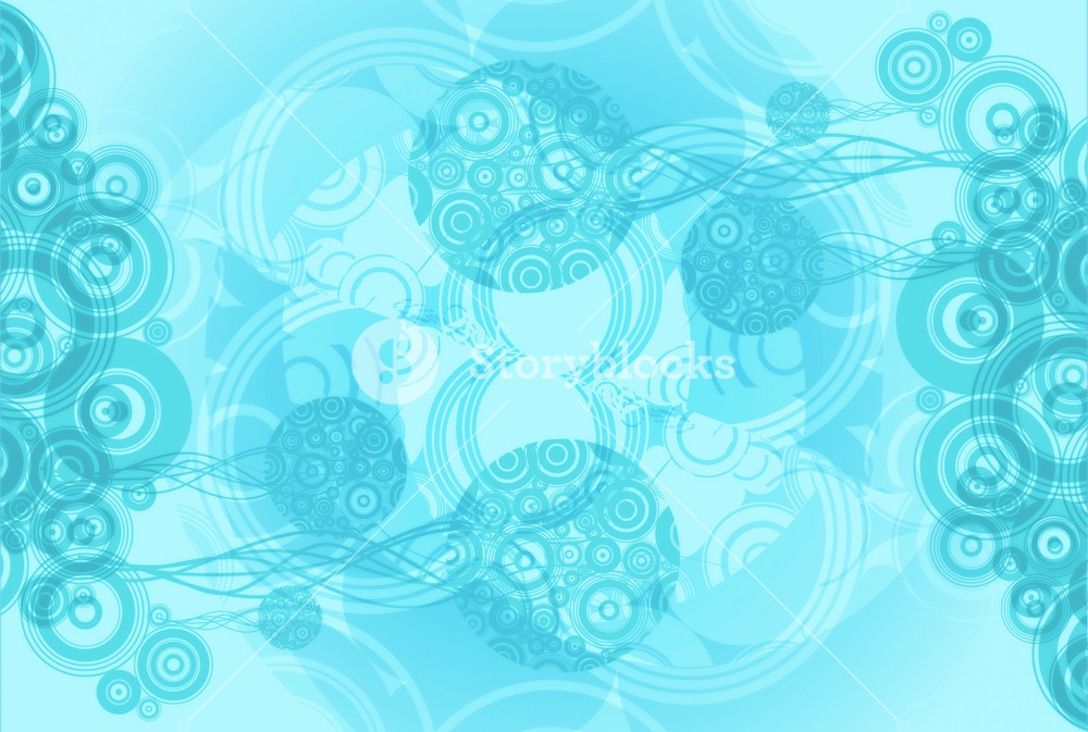 Cool Blue Abstract