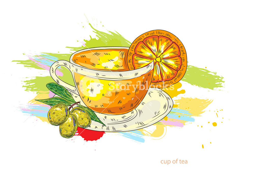 cup of tea vector illustration royalty free stock image storyblocks https www storyblocks com business solution license comparison