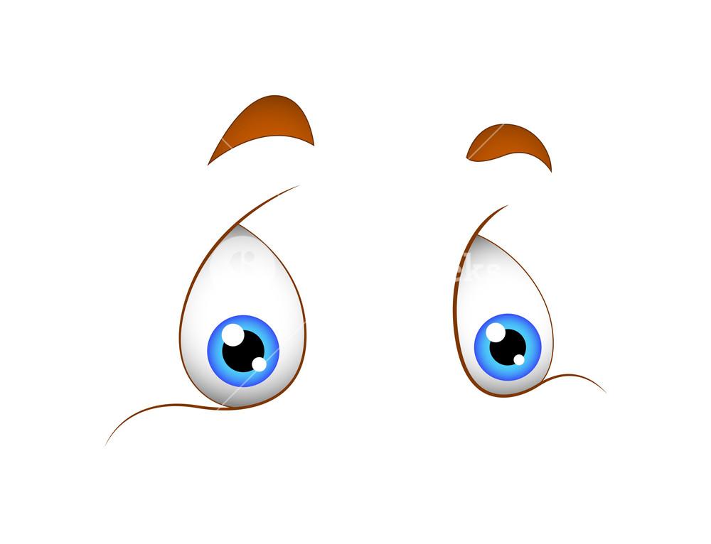 Cute Funny Cartoon Eyes