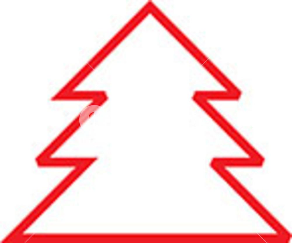 Design Element Of Christmas Tree.