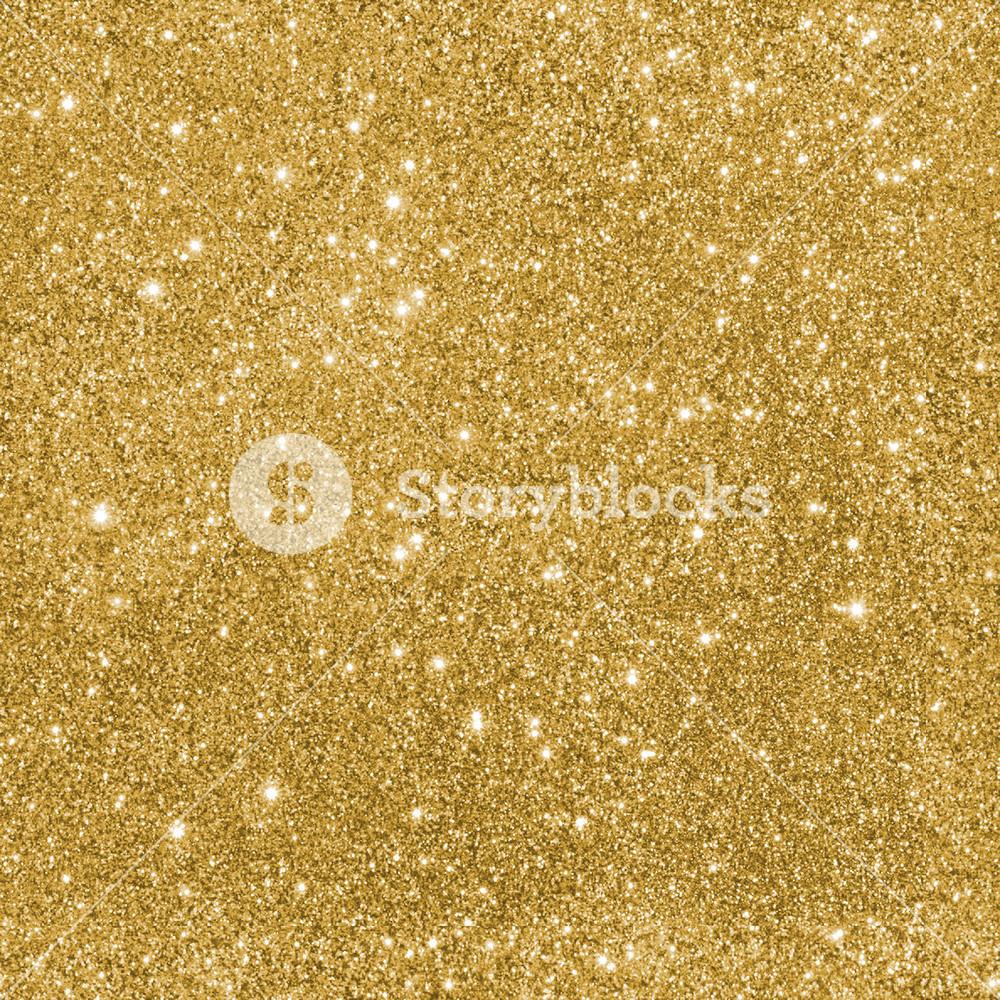 Design Texture Of Gold Glitter Paper