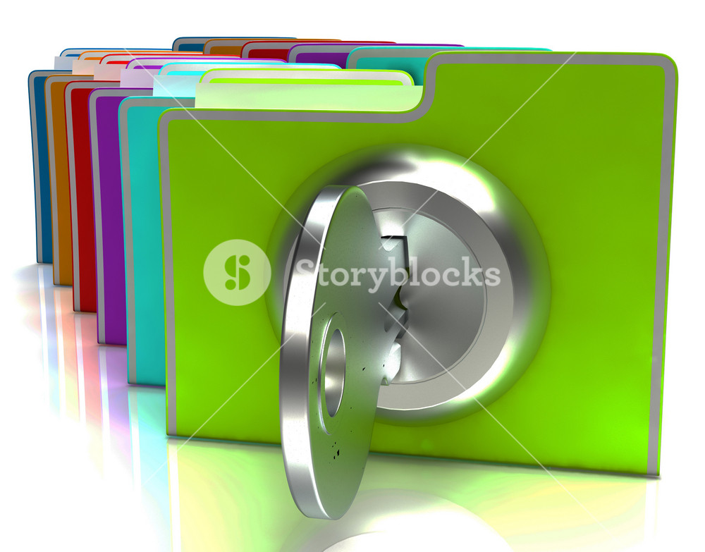 Files With Key Show Protection And Classified