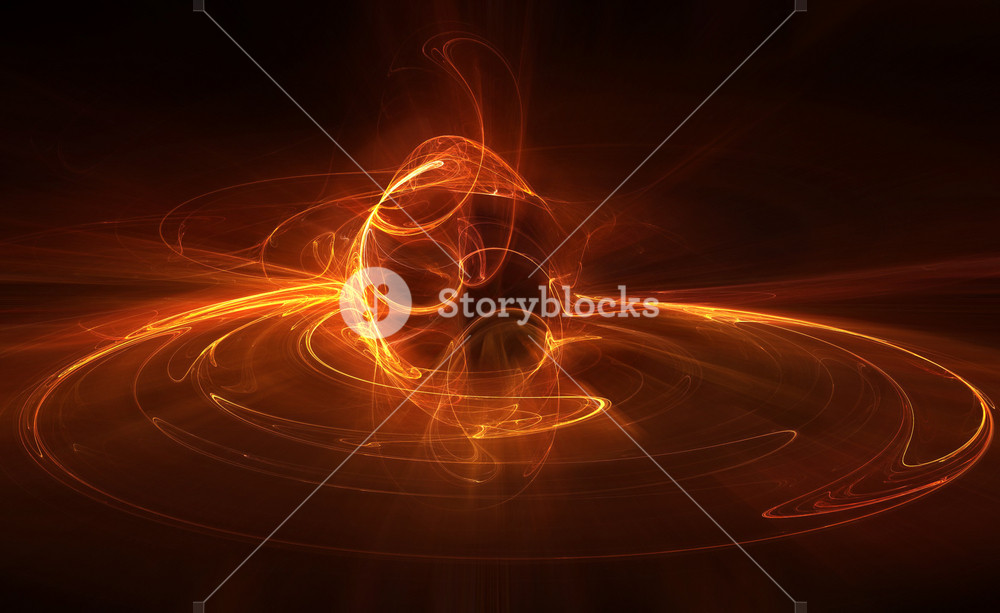 Fire Flame Style Fractal Design